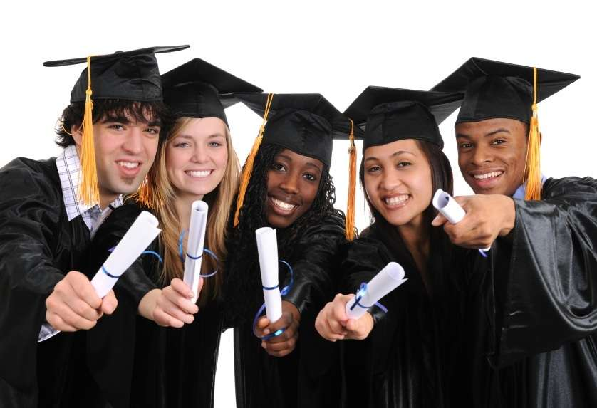 istock photo students graduating santa barbara education foundation