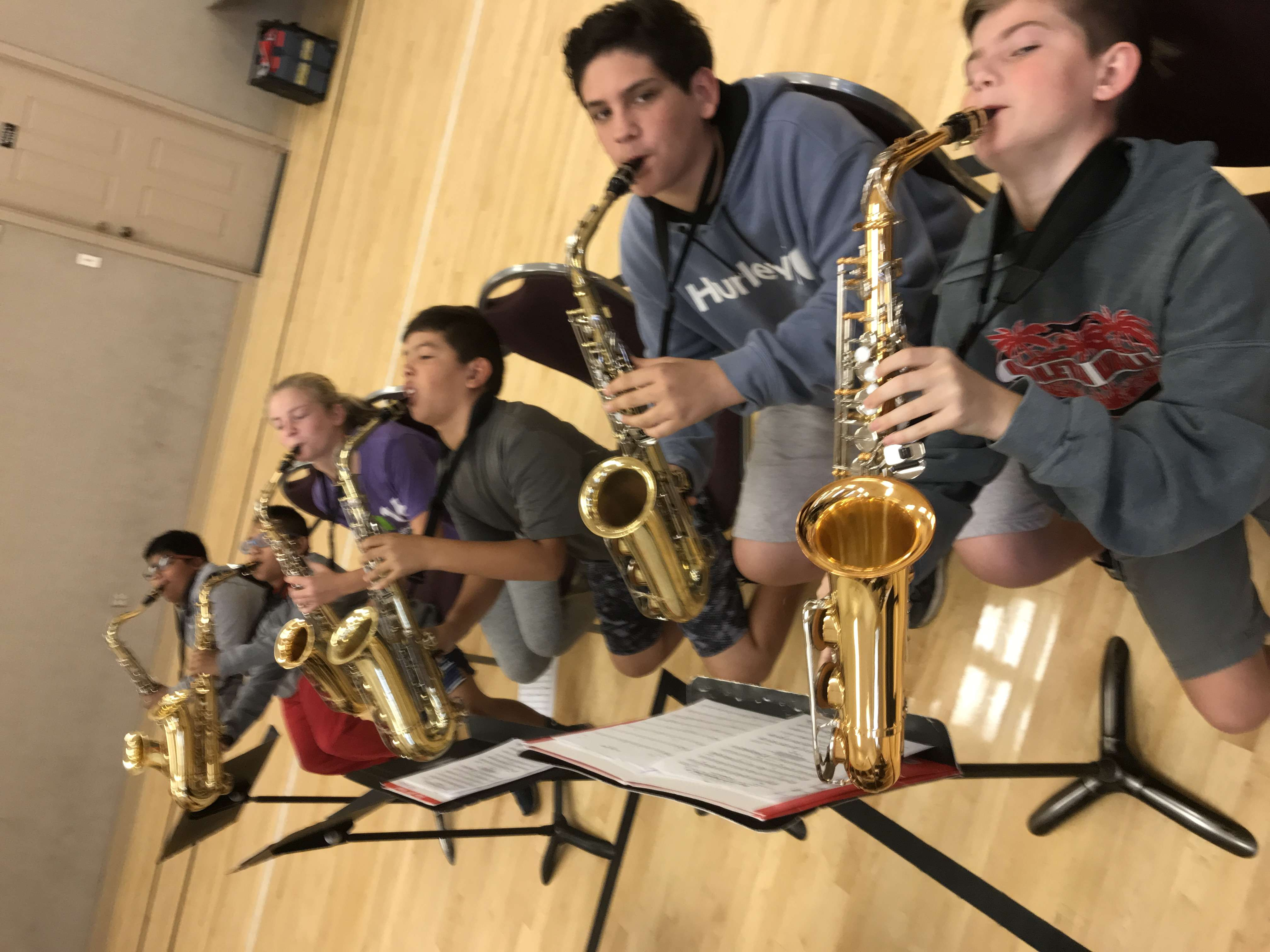 Local Students Tune in to Summer Music Camps