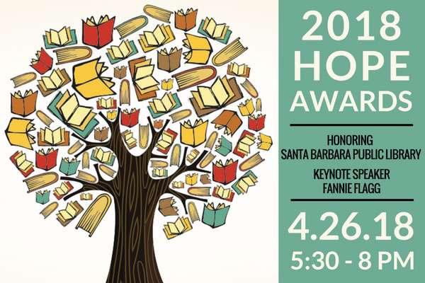 Santa Barbara Education Foundation highlights literacy at 2018 HOPE Awards