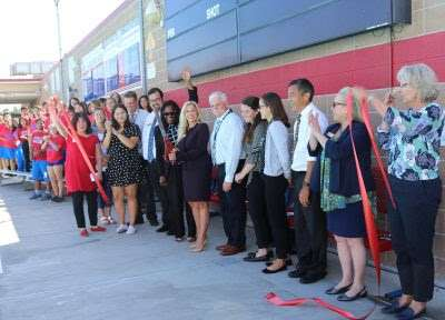 San Marcos High School Celebrates the Pool Deck Resurfacing Project Completion