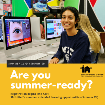 Summer 2019 Extended Learning Opportunities Announced