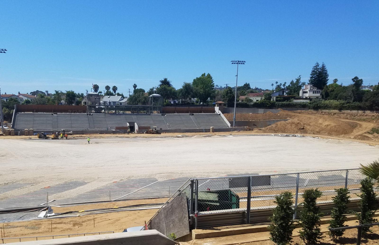 Santa Barbara High School Peabody Stadium Renovation Project Update