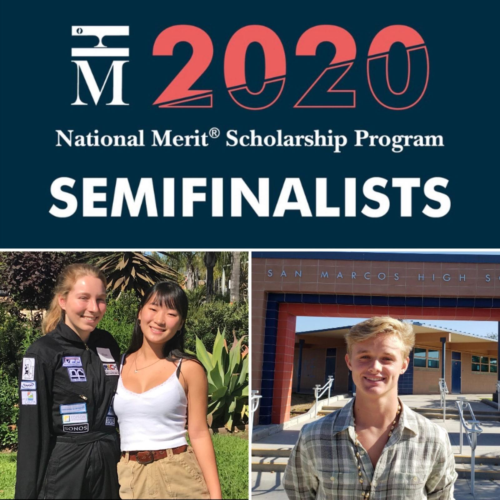 Congratulations to our National Merit Scholar Semifinalists