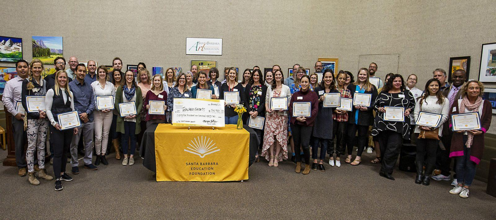 Santa Barbara Education Foundation Awards $85,000 in Teacher Grants