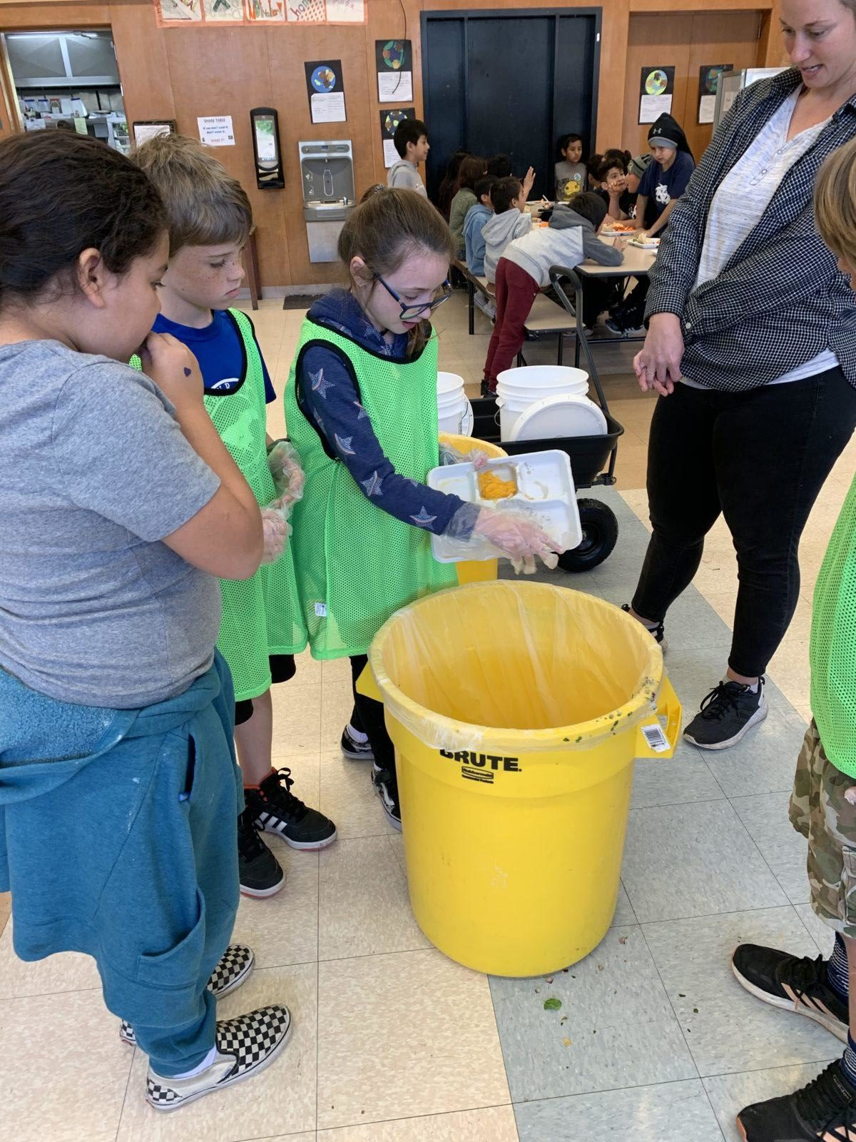 Monroe Elementary Green Team: Young Experts on Food Waste Management