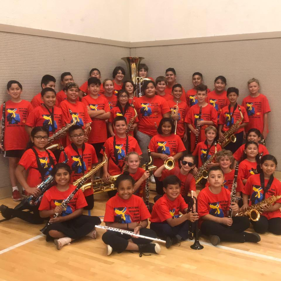 The Nick Rail Summer Band Camp: Shaping Young Musicians for Decades