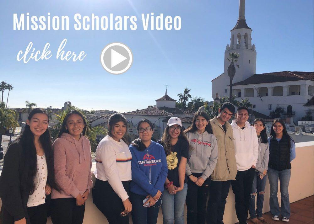 Mission Scholars: College Acceptances & Updates