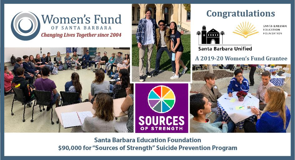 Women's Fund Awards $90,000 to SBEF for Teen Suicide Prevention