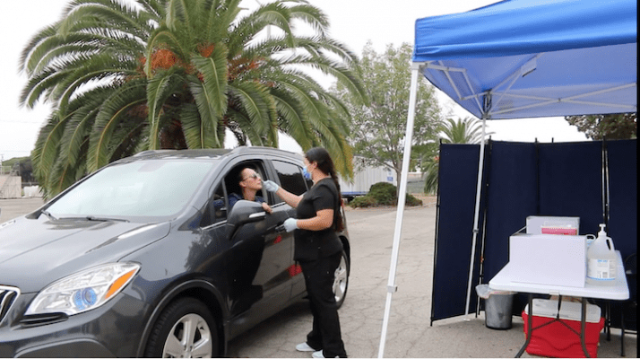 Santa Barbara Unified Offers Drive-Thru COVID-19 Testing