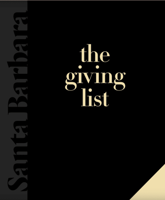 SBEF Featured on Montecito Journal's The Giving List